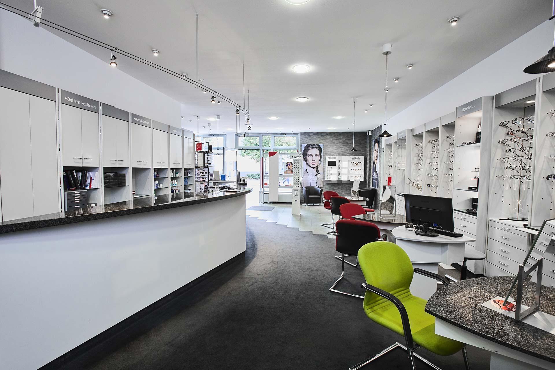 Verkaufs- und Beratungsraum
